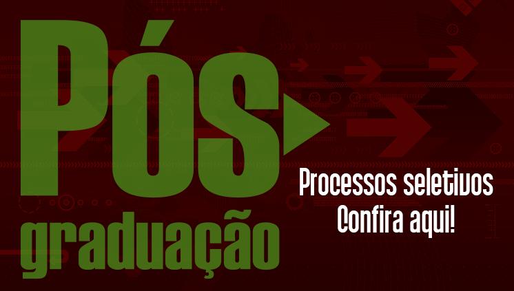 Processos seletivos: cursos de pós-graduação