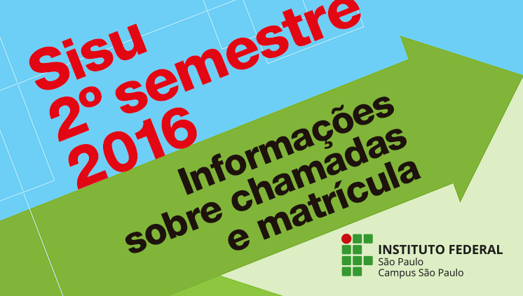 Cursos de graduação: Sisu/2º semestre