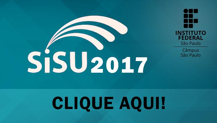 SISU - 1º semestre/2017