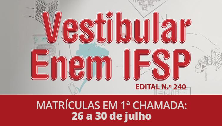 Câmpus São Paulo oferece 440 vagas para cursos superiores de graduação